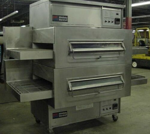 Middleby Marshall PS360WB Double Stack Gas Conveyor Pizza Oven