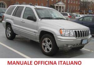 Schemi Elettrici Jeep Grand Cherokee : Chrysler jeep grand cherokee wj  manuale officina