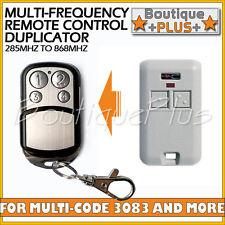Compatible Remote for Multi-Code 3083 Gate Garage Remote MultiCode 308301