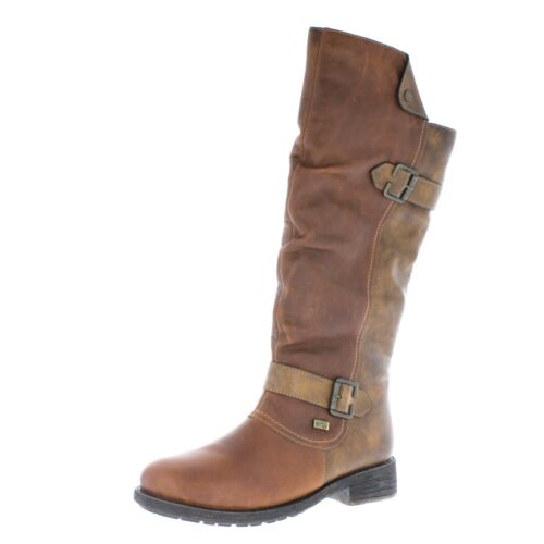 Lined Combination D8075 Brown Boots Warm Remonte Ladies xSPgwOEx