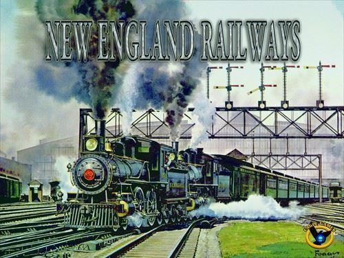 New England Railways Board game