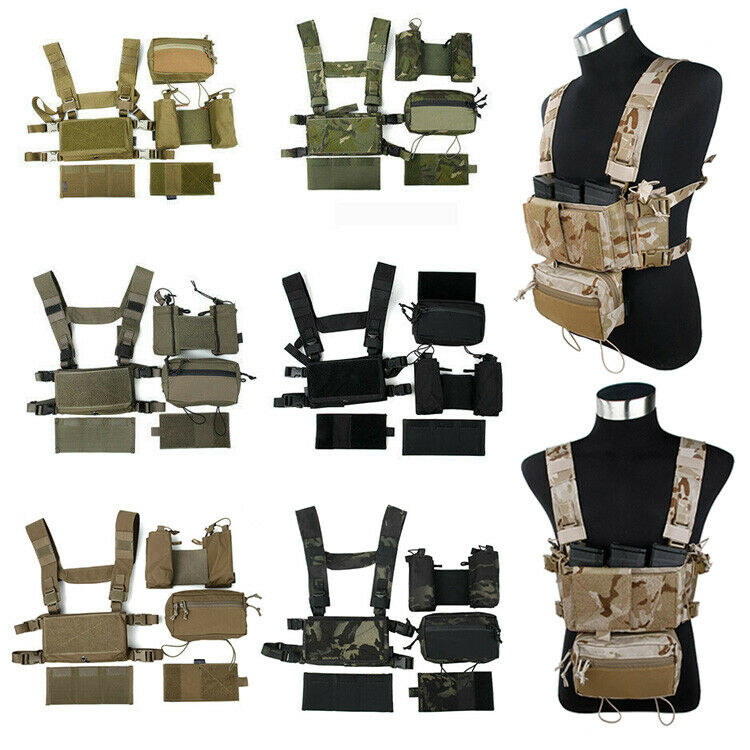 TMC3115 Tactical Chaleco plataforma  de pecho ss Modular Set 500D Nylon RG KK MTP BK CB MCA A1  bajo precio del 40%