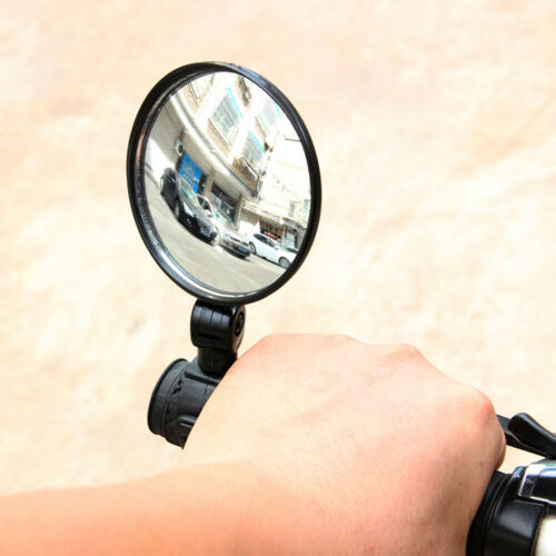360° Adjustable Bike Handlebar Rearview Motorcycle Looking Glass Bicycle Mirror!