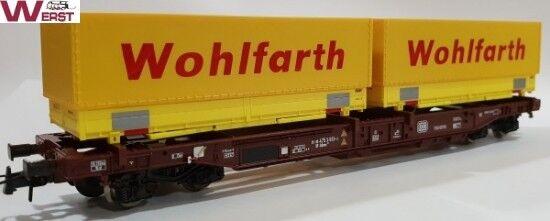 ROCO 76370 3 pezzi unità tasche Carro DB Corriere Wohlfarth 1:87 NUOVO & OVP