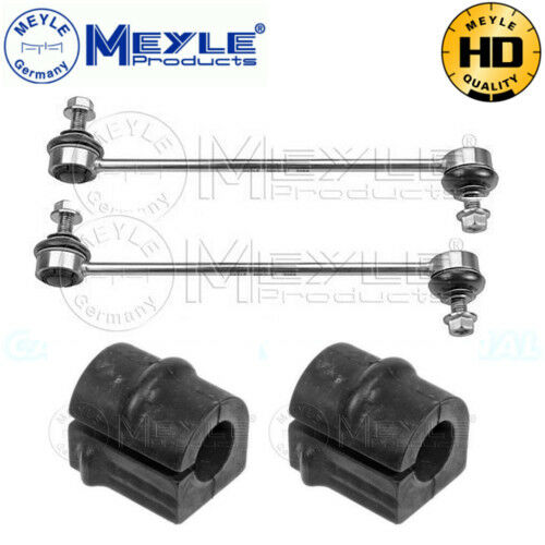 MEYLE HD Front Stabilizer Links & Bushes 6160600003/HD x2 & 6140350036x2