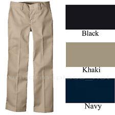 Girls Navy Blue School Uniform Dress Pants Plus Size 205 Adjustable