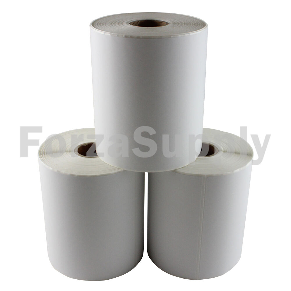 12 Rolls 4x6  EcoSwift  Direct Thermal Labels 250 per roll Eltron Zebra 2844 450