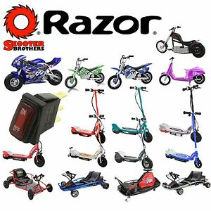 On Off Power Switch For Razor Ground Force Drifter