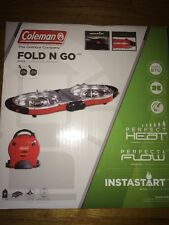 Coleman Portable Fold-N-Go 2 Burner Propane Stove 2000020939