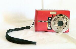 Polaroid-i1237-12-0MP-Camara-Digital-Rojo-buen