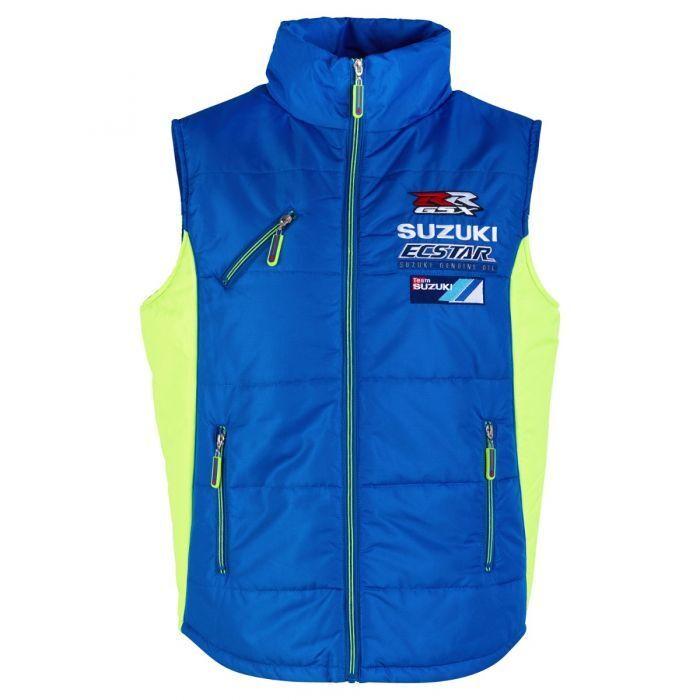 Official Suzuki Ecstar Motogp Team Zip Up Body Warmer - 17SE_BW