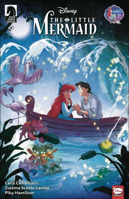 Disney The Little Mermaid #3 Ariel Dark Horse Comic 1st Print 2020 NM