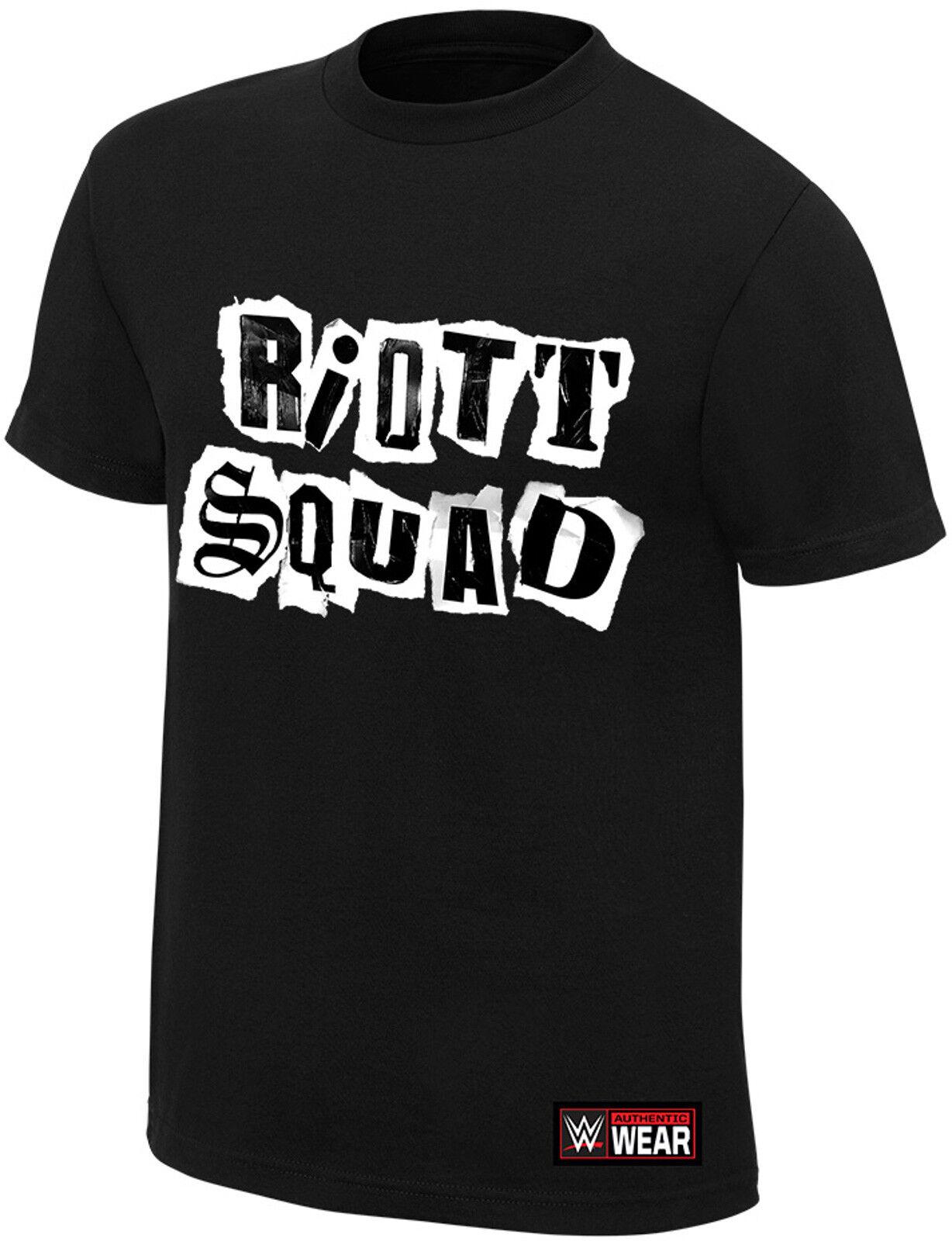 WWE RIOTT SQUAD SQUAD SQUAD We Win We Riott OFFICIAL AUTHENTIC T-SHIRT | Optimaler Preis  | Deutschland Outlet  | Starke Hitze- und Hitzebeständigkeit  911255