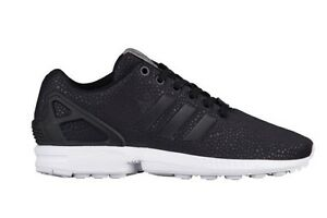 Adidas ZX flux woman black and gold | Clothes. | Adidas