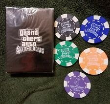 Grand Theft Auto San Andreas GTA Playing Cards Card Deck Rare PS2 Xbox
