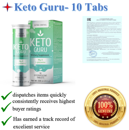 Keto-Guru-Effervescent-tablets-for-Keto-Diet-by-Hendel-039-s-Garden-100-Russia-NEW