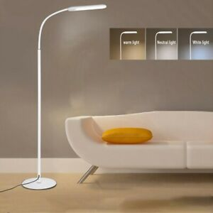Adjustable-LED-Floor-Lamp-Light-Standing-Reading-Living-Room-Office-Dimmable-NEW
