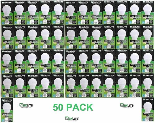 11 Watt Omnidirectional LED A19 Dimmable 3000K 11A19DLED30//G5  50 PACK Maxlite