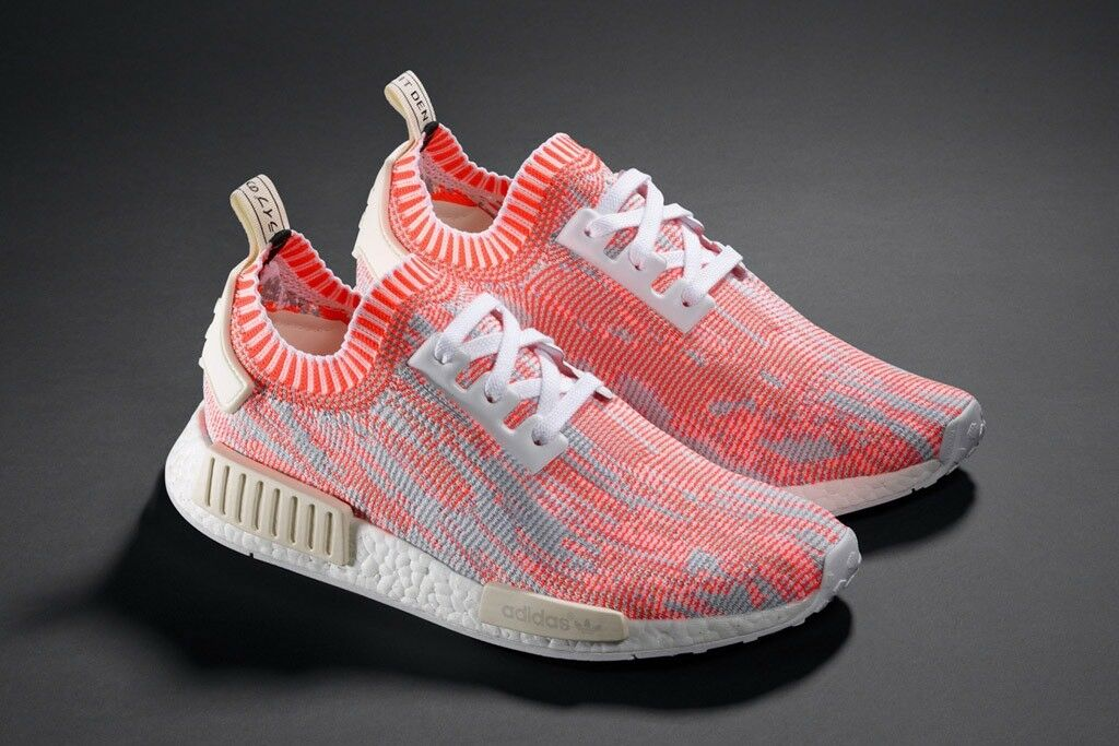 Adidas NMD R1 Primeknit PK Orange UK6 US6.5 Solebox Hype Bête High snobiety