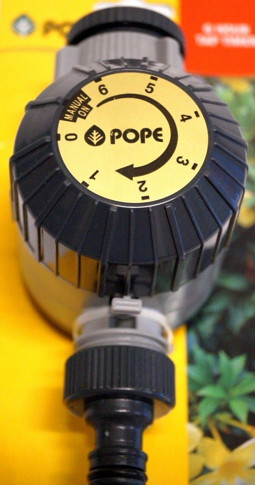 TAP TIMER Pope 6 Hour Tap & Sprinkler Timer