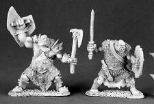 Black Orc Warriors Reaper Miniature Dark Heaven Legends Fighter Barbarian Melee