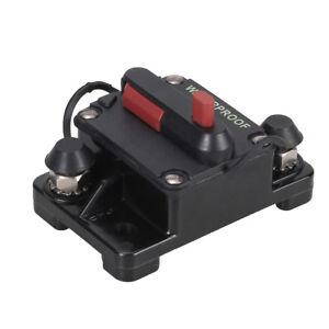 135A-12-48V-Voiture-Marine-Bateau-Moto-Audio-Stereo-En-ligne-Disjoncteur-Fusible