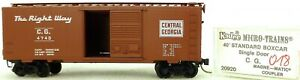 Micro-Trains-Ligne-20920-c-G-4740-40-039-Standard-Boite-1-160-Emballage-H018-A