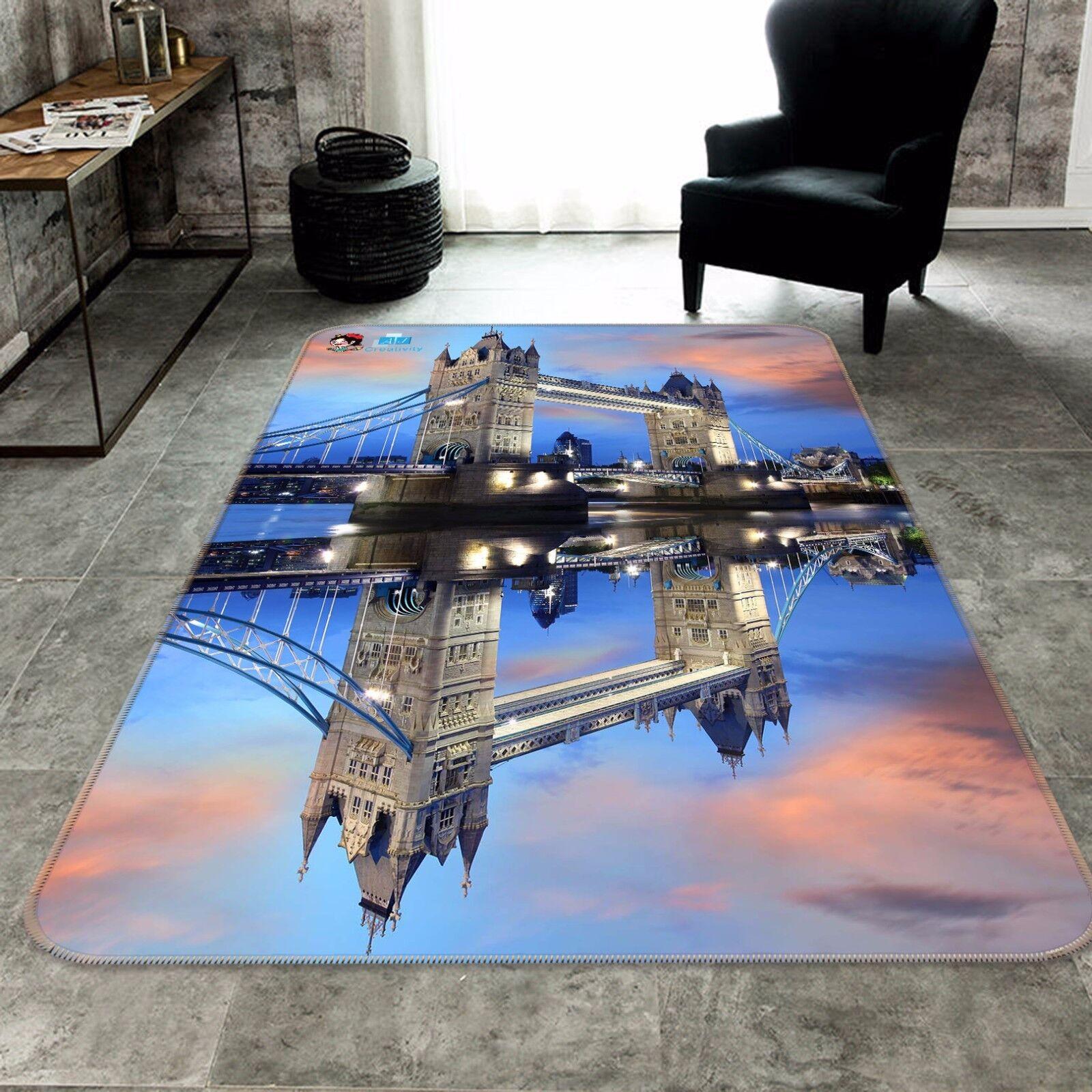 3d puente ciudad 405 antideslizante alfombra alfombrilla para maletero alfombra elegante de