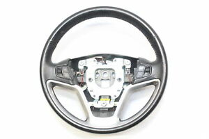 2007 VAUXHALL ANTARA STEERING WHEEL MULTIFUNCTION BLACK LEATHER