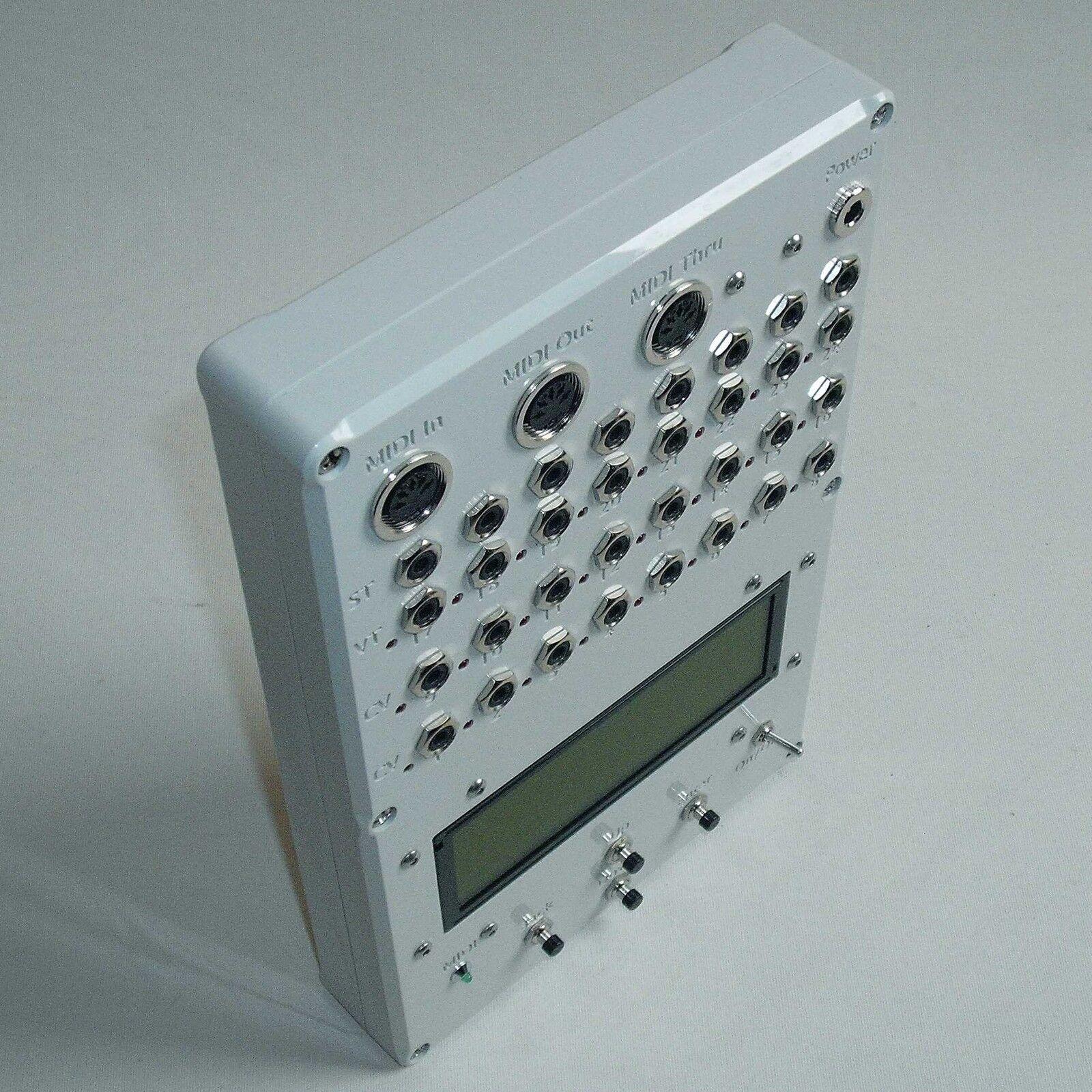 Midi to CV ConGrüner muc-800 16bit, 16 x CV, 8 x V-Trig (5v 10v), 8 x S-Trig