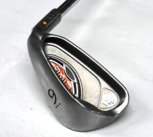 Ping-G10-9-Iron-Z-Z65-Steel-Yellow-Dot-Midsize-Grip-1-034-RIGHTY-Excellent