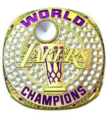 New 2020 Lakers Championship rings 1985-2020 Locker ...