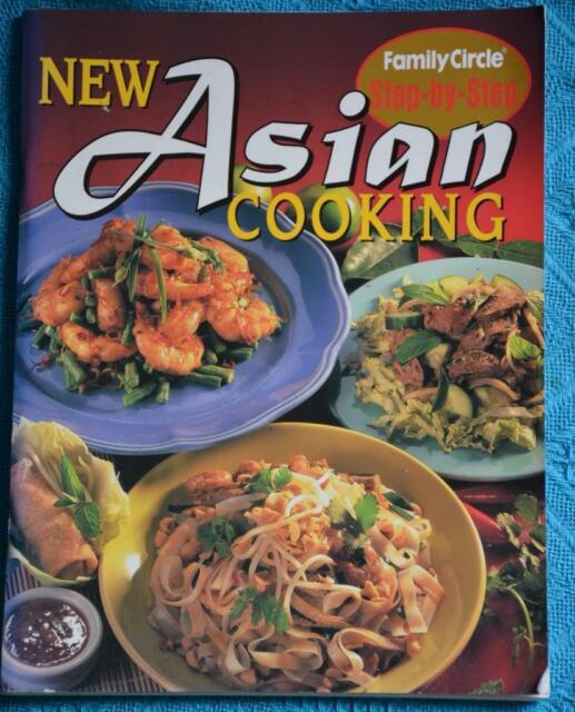 Family Circle ASIAN COOKING COOKBOOK Step By Step ~RARE~ FAMILY/PARTY FOOD