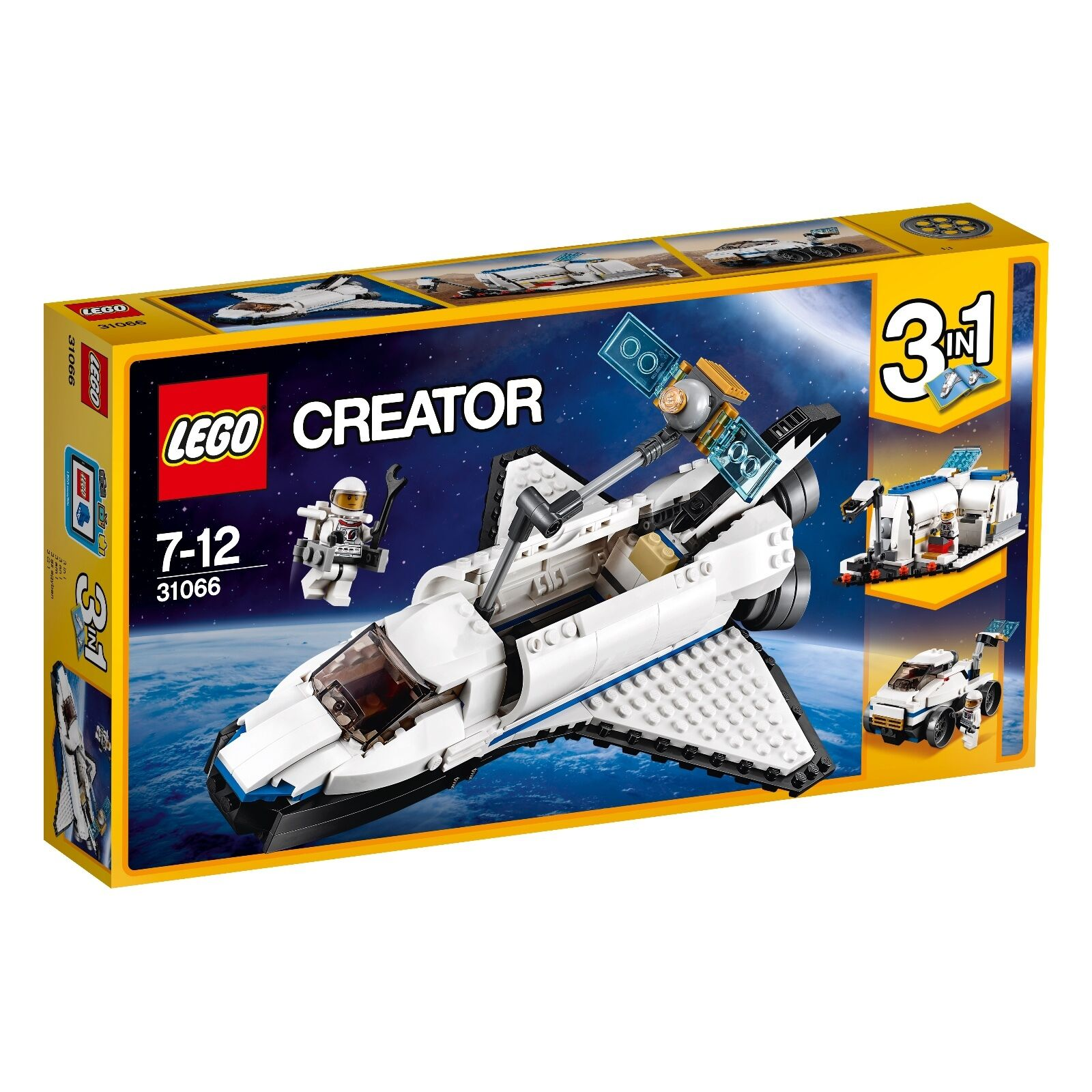 LEGO ® Creator 31066 ricerca spaceshuttle NUOVO OVP _ NEW MISB NRFB