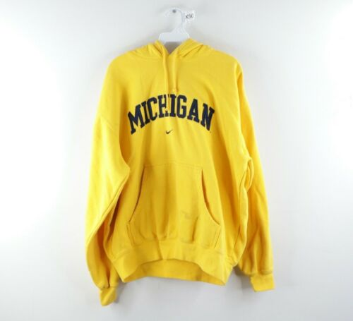 Vintage Nike Mens Medium University of Michigan Ce