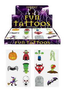 72-Halloween-Temporary-Tattoos-Pinata-Toy-Loot-Party-Bag-Fillers-Wedding-Kids