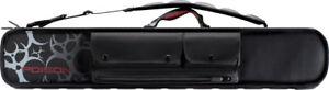 Poison Armor 3x4 Soft Pool Cue Case Poc03 Black W/ Free Shipping