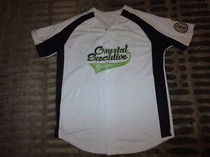 Baseball Squadra Da Cristallo Jersey Lg Isagenix L Lavoro League OFxAf