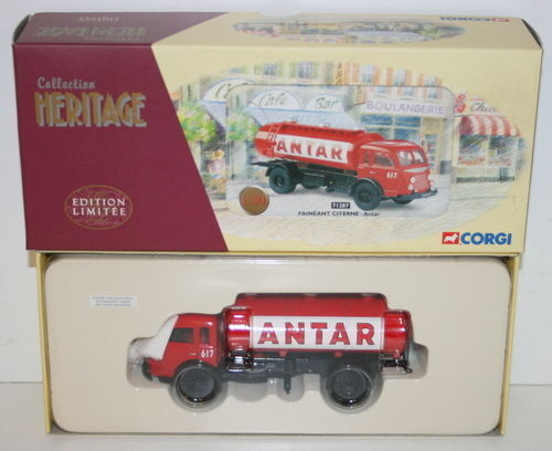 CORGI 1 50 SCALE COLLECTION HERITAGE 71207 FAINEANT CITERNE - ANTAR