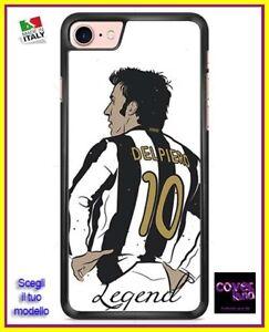 Dettagli su Cover Case DEL PIERO LEGEND - Scegli modello iPhone Samsung Huawei LG Nokia Sony