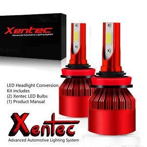 Details About Xentec Led Fog Light Kit H10 9145 For Chevrolet Avalanche Corvette Malibu