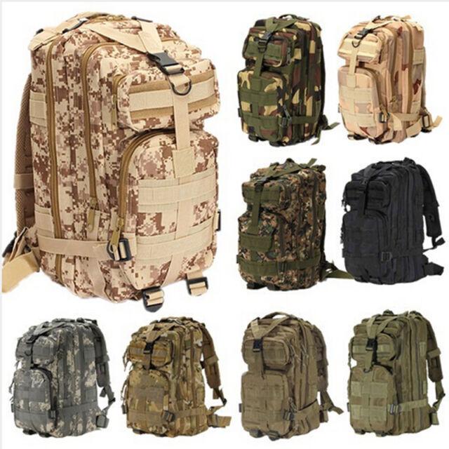 Outdoor Sport Camping Trekking Hiking Bag Military Tactical Rucksacks Backpack