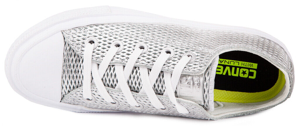CONVERSE Chuck Taylor Taylor Taylor All Star II Metallic Leather 555800C scarpe da ginnastica scarpe donna 67de3f