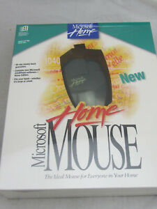 Vintage NEW - Microsoft Home Mouse 9-Pin Serial Port NOS