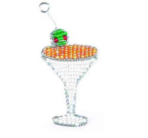 HAND CRAFTED BEADWORX KEYRING BEAD WORK GRASS ROOTS GLASS BEADS KEYRINGS