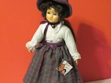 """Handmade German Tati Doll 10"""" with Stand, leather shoes, Excellent Condition"""
