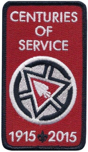Boy Scout Order of the Arrow NOAC 2015 Centennial OA Centuries of Service Patch