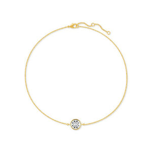 Chain-Bracelet-with-White-Clear-Round-Crystals-from-Swarovski-Gold-Plated