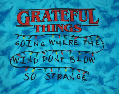 Grateful Dead Stranger Things Tie Dye Lot Shirt Gildan Hammer Short Sleeve L-3xl