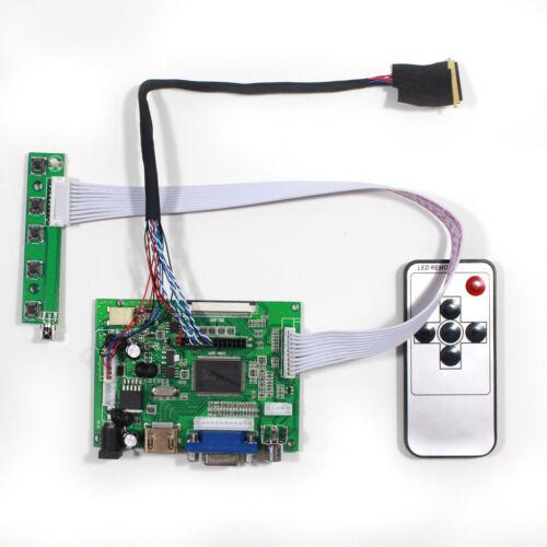 HDMI VGA 2AV Reversing LCD Driver Board for 10.1inch B101EW05 1280x800 LCD Panel